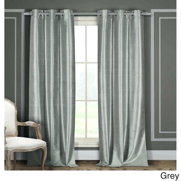 Faux Silk Blackout Curtains – Quyendessert (View 13 of 50)