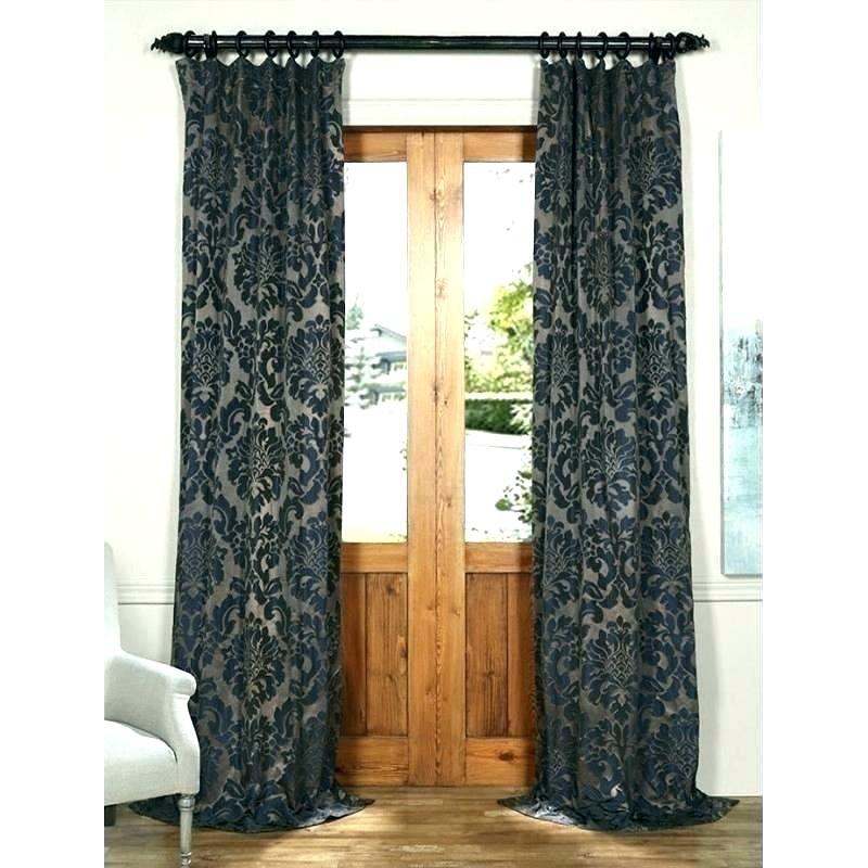 Faux Silk Blackout Curtains – Reinydays Pertaining To Overseas Faux Silk Blackout Curtain Panel Pairs (#21 of 41)