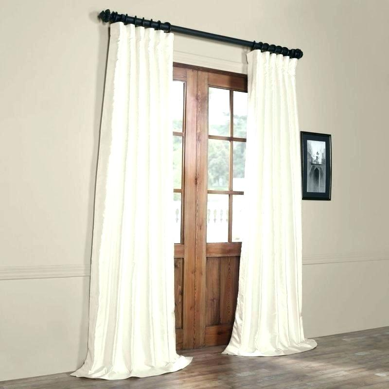 Faux Silk Curtain Panels – Creativeiman Inside Solid Faux Silk Taffeta Graphite Single Curtain Panels (View 18 of 50)
