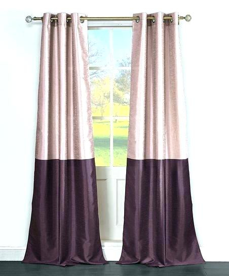Faux Silk Curtains Purple Fabulous Duck River Textile And In Vintage Faux Textured Dupioni Silk Curtain Panels (#34 of 50)
