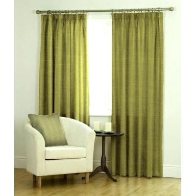 Faux Silk Curtains – Sosta Regarding Raw Silk Thermal Insulated Grommet Top Curtain Panel Pairs (#22 of 46)