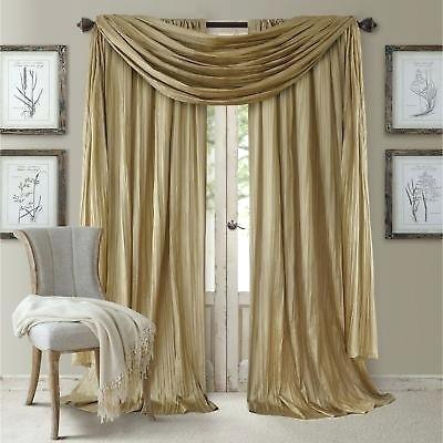 Faux Silk Drapes – Burgerpoint Regarding Solid Faux Silk Taffeta Graphite Single Curtain Panels (#12 of 50)