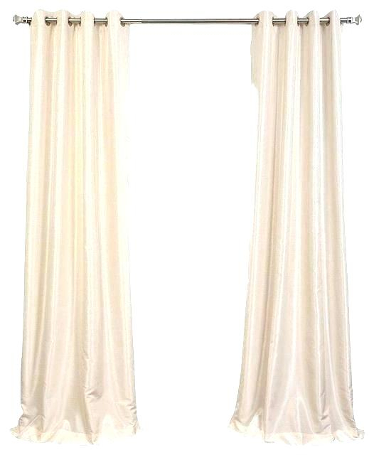 Faux Silk Drapes – Tatix Pertaining To Vintage Faux Textured Dupioni Silk Curtain Panels (#36 of 50)