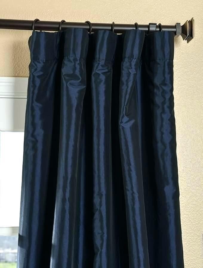 Faux Silk Taffeta Curtains – Franciscobudge (View 33 of 50)