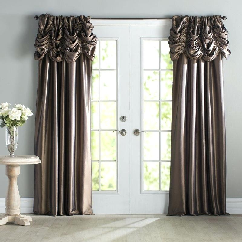 Faux Silk Taffeta Curtains – Iamdev Throughout Faux Silk Taffeta Solid Blackout Single Curtain Panels (View 19 of 50)