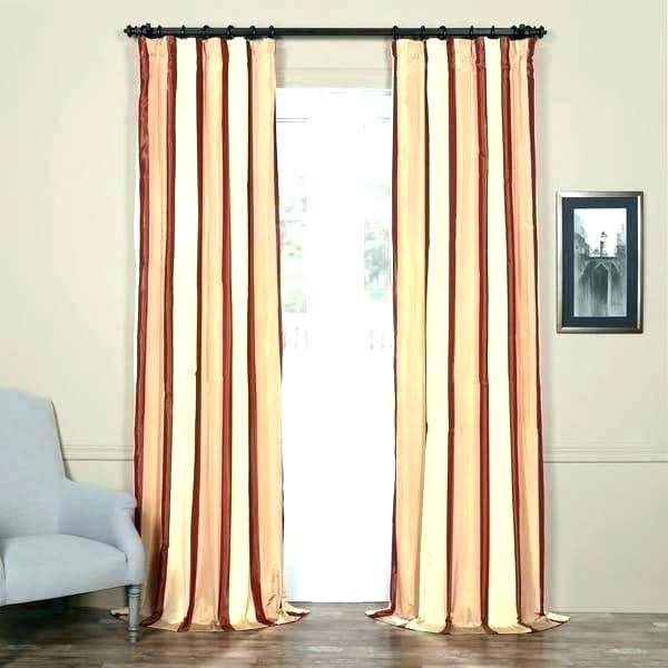Faux Silk Taffeta Solid Blackout Curtain Panel – Topplace (#14 of 50)