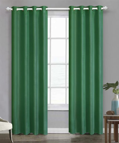 Fiesta® Meadow Cotton Solid Curtain Panel | Zulily Within Solid Cotton Curtain Panels (#24 of 47)
