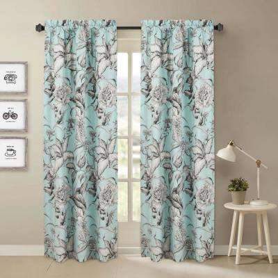 Floral – Room Darkening Curtains – Curtains & Drapes – The With Floral Pattern Room Darkening Window Curtain Panel Pairs (View 10 of 44)