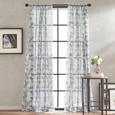 Floral Sheer Curtains – Avalon Master (View 19 of 46)