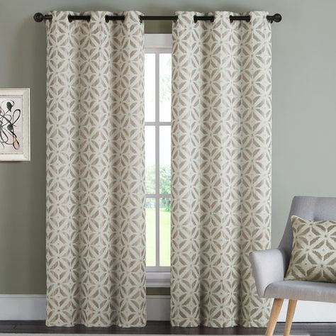 Found It At Allmodern – Dalton Curtain Panel | For The Home With Regard To Cyrus Thermal Blackout Back Tab Curtain Panels (#15 of 39)