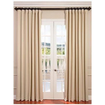 Found It At Wayfair – Doublewide Plush Blackout Single In Hayden Grommet Blackout Single Curtain Panels (View 14 of 39)