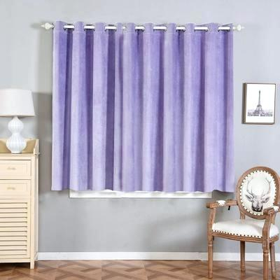 Four Shades Of Lavender Square Blackout Curtain Curtains Intended For Embossed Thermal Weaved Blackout Grommet Drapery Curtains (View 22 of 42)