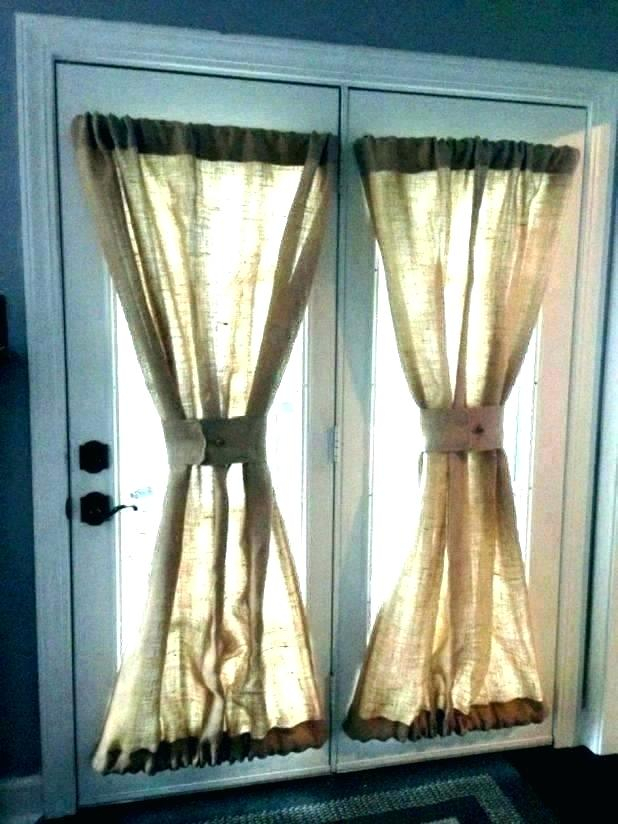 French Door Curtain Panels With Regard To French Linen Lined Curtain Panels (View 16 of 50)