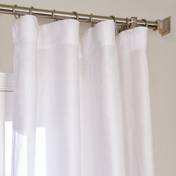 French Linen Curtain Panels – Home The Honoroak Throughout Signature French Linen Curtain Panels (#17 of 50)
