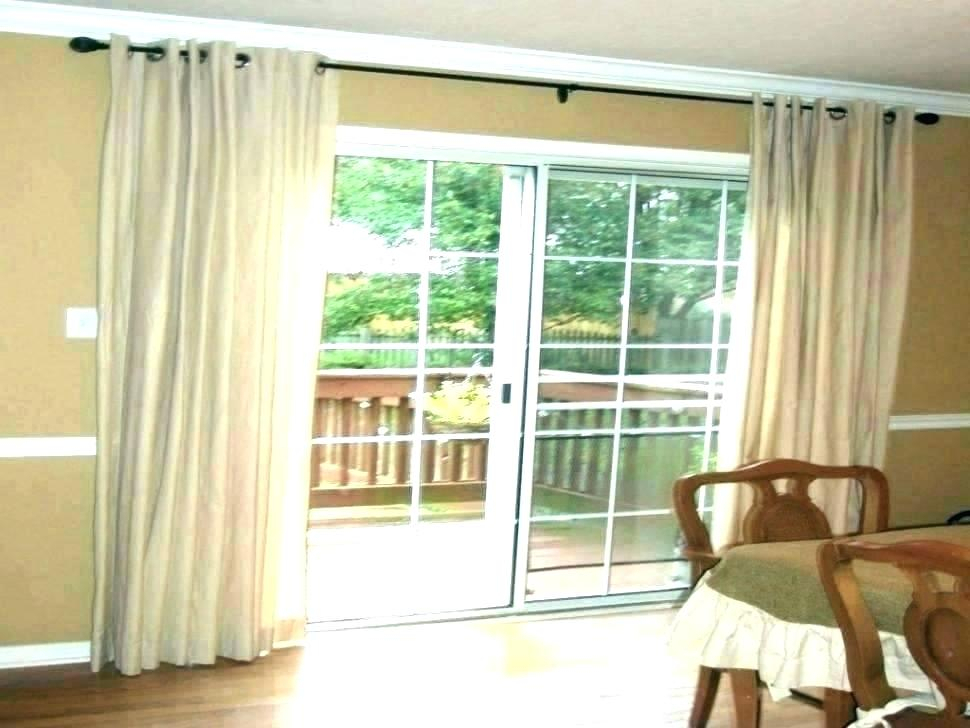 Front Door Curtain Panel Curtains Sheer Full Size Of Ideas Pertaining To Inez Patio Door Window Curtain Panels (View 24 of 50)