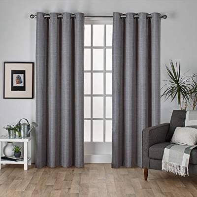 Gardinen & Vorhänge Und Andere Wohntextilien Von Exclusive Intended For Easton Thermal Woven Blackout Grommet Top Curtain Panel Pairs (#24 of 44)