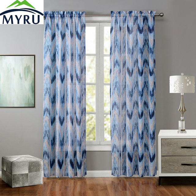 Geometric Pattern Curtains – Home Ideas Intended For Primebeau Geometric Pattern Blackout Curtain Pairs (#21 of 38)