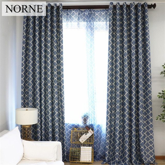 Geometric Pattern Curtains – Home Ideas Intended For Primebeau Geometric Pattern Blackout Curtain Pairs (#20 of 38)