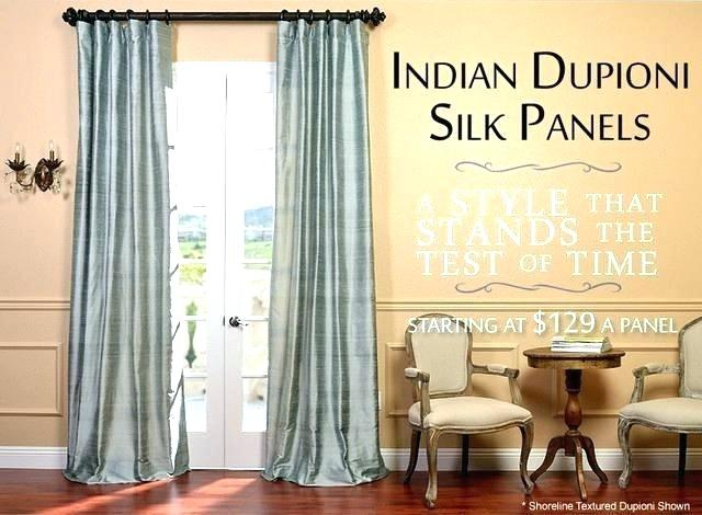 Gold Faux Silk Curtains Uk Antique Pale White Decorating Regarding Silver Vintage Faux Textured Silk Curtain Panels (View 32 of 50)