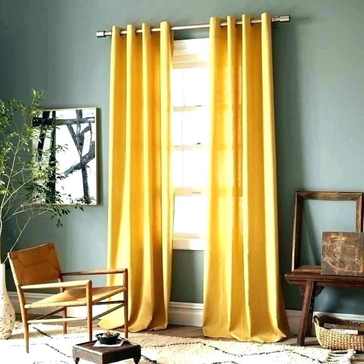 Gold Heritage Plush Velvet Curtain Yellow Curtains Eyelet N Regarding Heritage Plush Velvet Curtains (View 19 of 50)