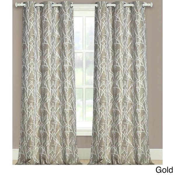 Gold Pattern Curtain – Gtres (View 35 of 42)