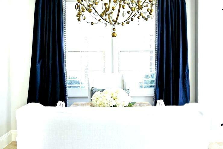 Good Looking Navy And White Blackout Curtains – Gentei For Eclipse Darrell Thermaweave Blackout Window Curtain Panels (View 38 of 50)