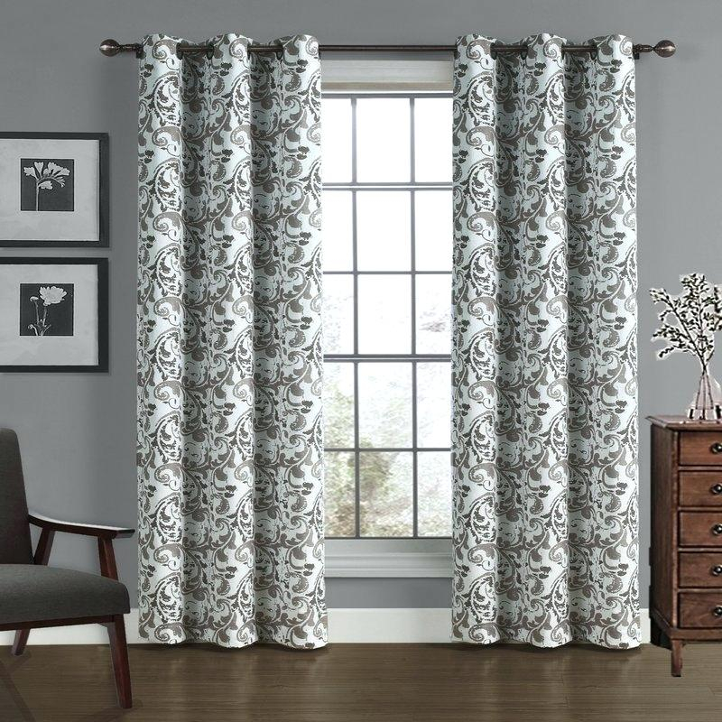 Gray Damask Curtains – Earnestpreciado (#23 of 50)