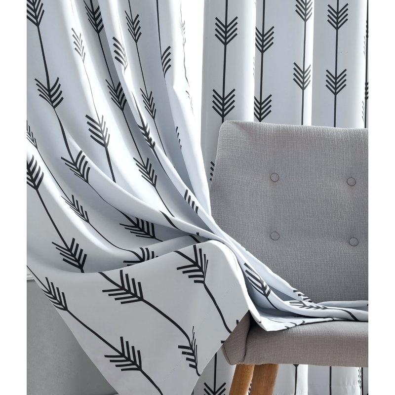 Gray Grommet Curtains – Sparkchess (#12 of 50)