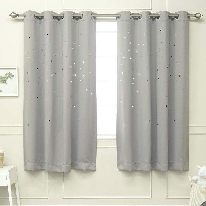 Gray Grommet Curtains – Sparkchess (#13 of 50)