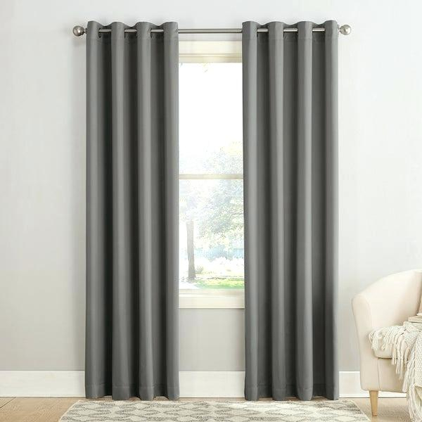 Gray Grommet Curtains – Sparkchess (#16 of 50)
