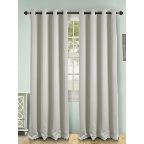 Gray Maroon Curtains | Wayfair Within Kaylee Solid Crushed Sheer Window Curtain Pairs (#13 of 40)