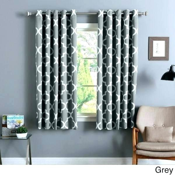 Gray Room Darkening Curtains – Financepart For Embossed Thermal Weaved Blackout Grommet Drapery Curtains (View 23 of 42)