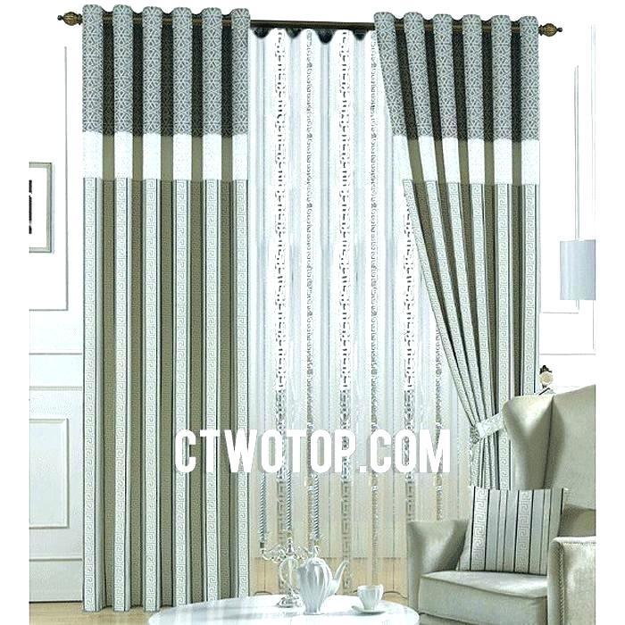 Gray Velvet Curtains Blackout Signature Natural Grey With Signature Blackout Velvet Curtains (#15 of 50)
