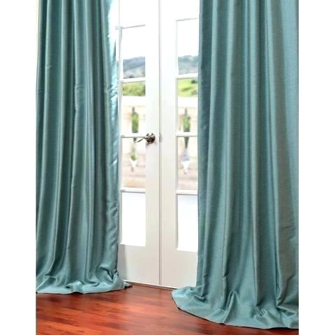 Green Dupioni Silk Drapes – Raphotography In Storm Grey Vintage Faux Textured Dupioni Single Silk Curtain Panels (View 46 of 50)
