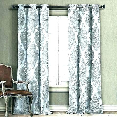 Grey And White Blackout Curtains – Ezywallet (#12 of 40)