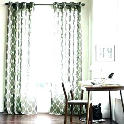 Grey Grommet Curtains Home Oxford Sateen Woven Blackout Top Intended For Oxford Sateen Woven Blackout Grommet Top Curtain Panel Pairs (View 17 of 44)
