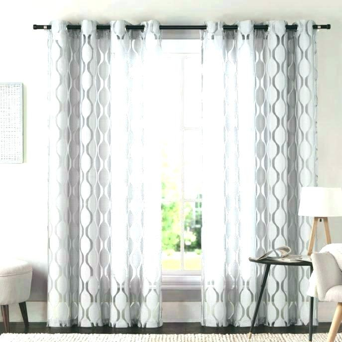 Grey Grommet Curtains Home Oxford Sateen Woven Blackout Top Throughout Oxford Sateen Woven Blackout Grommet Top Curtain Panel Pairs (View 20 of 44)