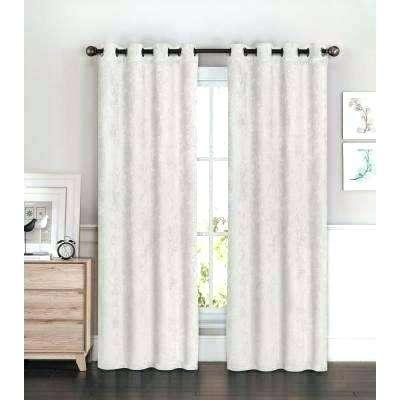 Grey Grommet Curtains L Room Darkening Curtain Panel Pair In Throughout Grommet Room Darkening Curtain Panels (View 19 of 50)
