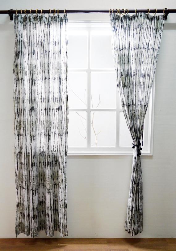 Popular Photo of Grey Printed Curtain Panels