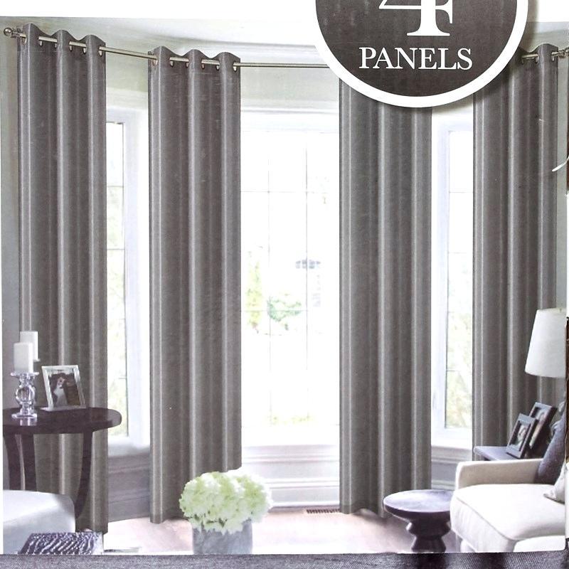 Grey Silk Curtains – Hawaiianairvacations (View 25 of 50)