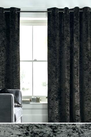 Grey Velvet Curtains Exclusive Fabrics Heritage Plush Single Pertaining To Heritage Plush Velvet Single Curtain Panels (View 25 of 50)