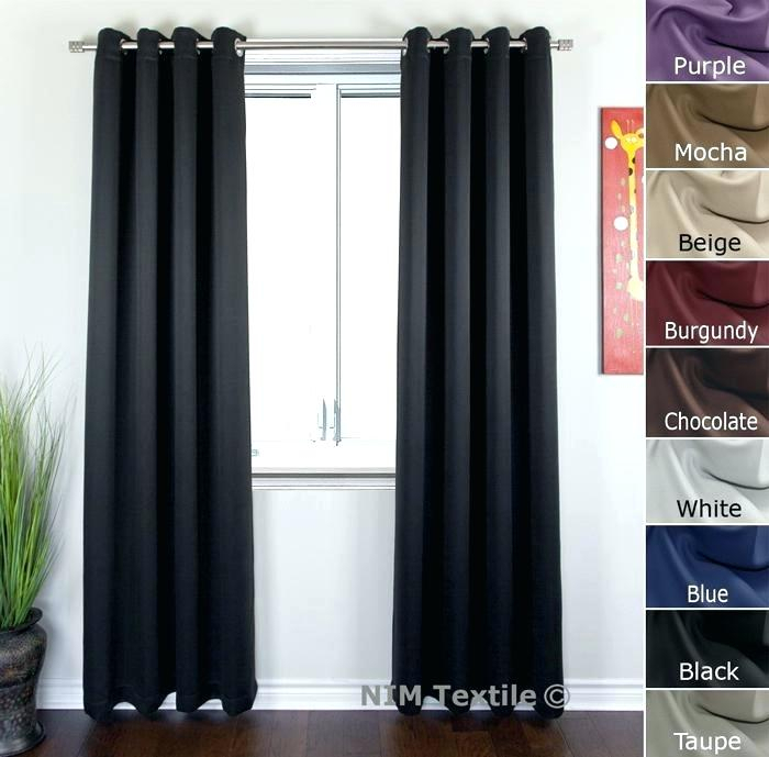 Gromet Panel – Joshpetersen For Luxury Collection Faux Leather Blackout Single Curtain Panels (View 30 of 42)