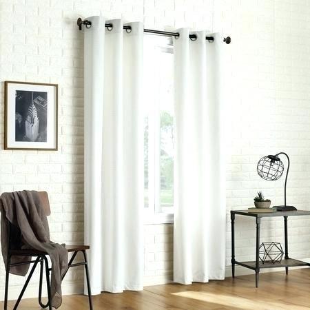 Grommet Curtain Panel Pair – E Da Throughout Baroque Linen Grommet Top Curtain Panel Pairs (View 29 of 48)