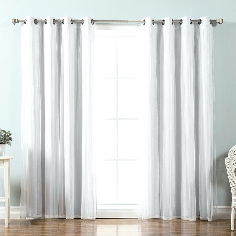 Grommet Curtain Panels – Socialprotectionbd For Superior Solid Insulated Thermal Blackout Grommet Curtain Panel Pairs (#23 of 45)