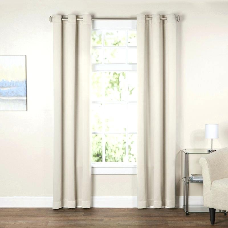 Grommet Curtain Panels – Socialprotectionbd Intended For Superior Leaves Insulated Thermal Blackout Grommet Curtain Panel Pairs (#22 of 50)