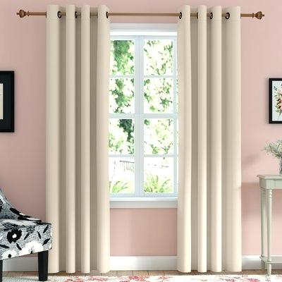 Grommet Curtains Blackout – Kindershow For Superior Leaves Insulated Thermal Blackout Grommet Curtain Panel Pairs (View 24 of 50)
