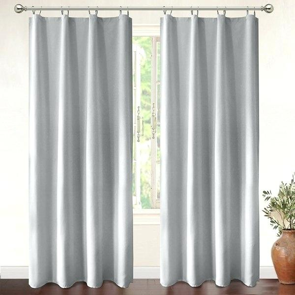 Grommet Curtains Blackout – Kindershow Pertaining To Superior Leaves Insulated Thermal Blackout Grommet Curtain Panel Pairs (#25 of 50)