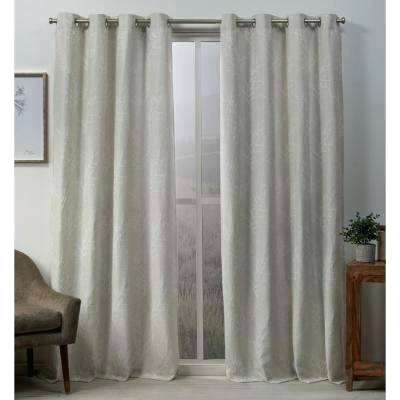 Grommet Curtains Blackout – Kindershow Within Superior Solid Insulated Thermal Blackout Grommet Curtain Panel Pairs (#25 of 45)