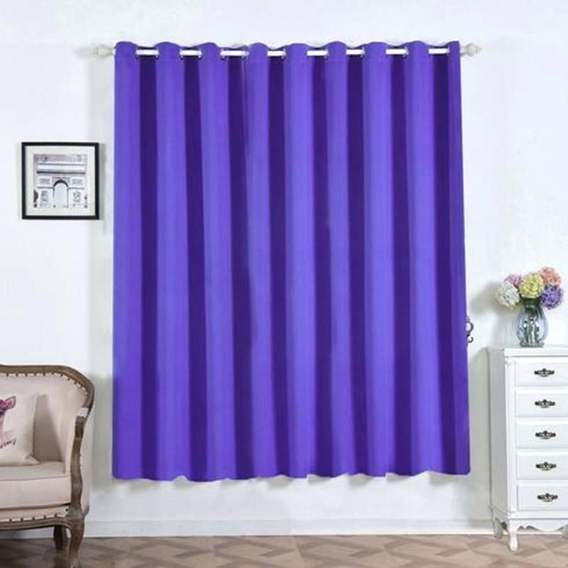 Grommet Curtains Blackout Noise Reducing Solid Ring Top For Thermal Insulated Blackout Grommet Top Curtain Panel Pairs (#22 of 50)