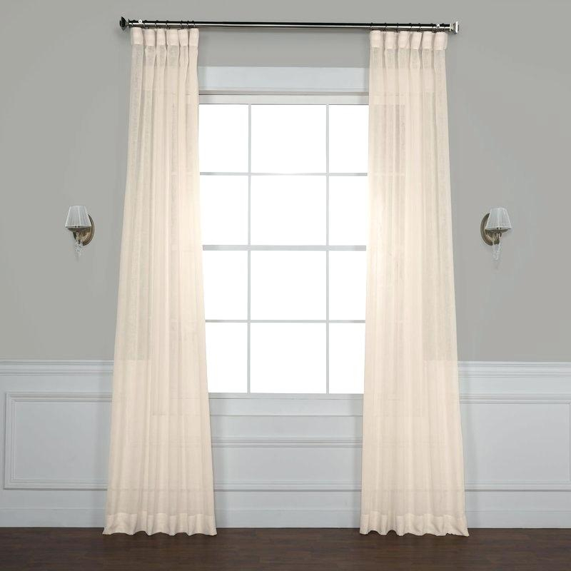 Grommet Linen Curtains – Armindaarant (#17 of 41)